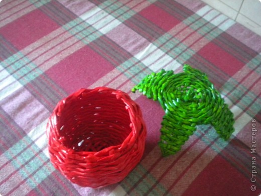 то ли шкатулка получилась,то ли конфетница... фото 3