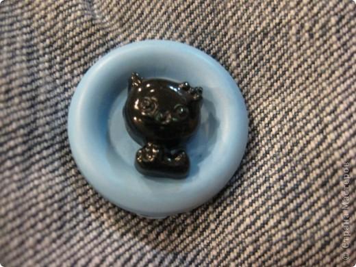 И снова-здравствуйте!!!! Хочу показать вам ещё один подарок для психолога Светланы.  Её талисман-чёрный кот. Вот по этому мой мягкий дружок такой чёрненький :))) фото 5