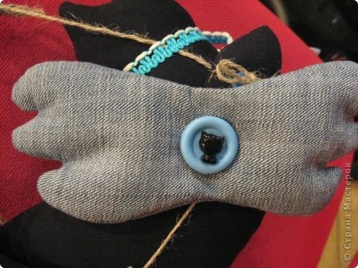 И снова-здравствуйте!!!! Хочу показать вам ещё один подарок для психолога Светланы.  Её талисман-чёрный кот. Вот по этому мой мягкий дружок такой чёрненький :))) фото 4