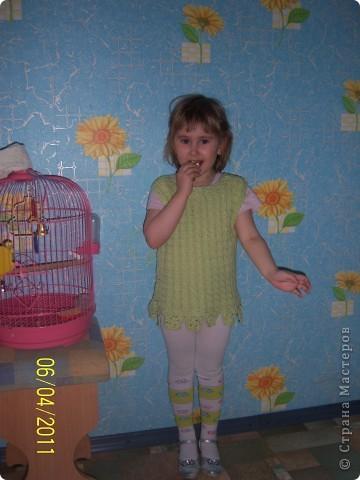 шапочка для моей дочи фото 2