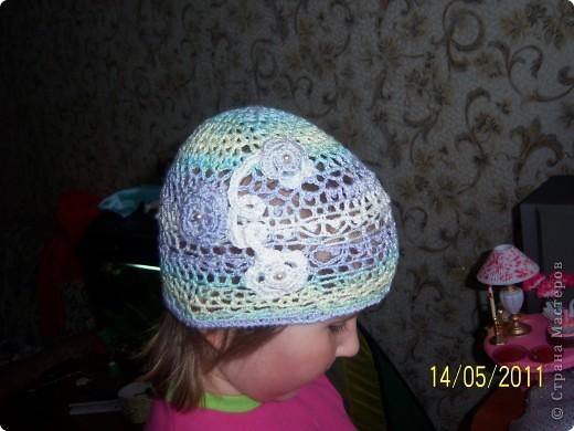 шапочка для моей дочи фото 1