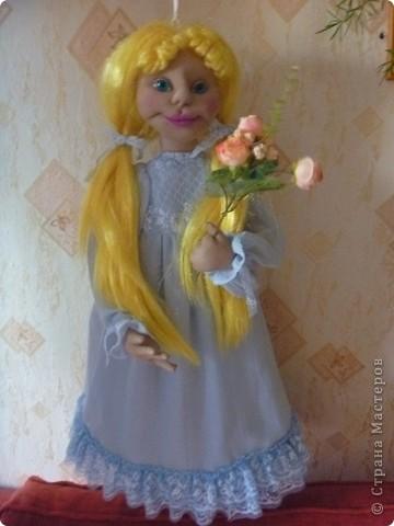 Это новая кукла-пакетница Златовласка. фото 2
