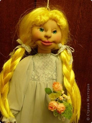 Это новая кукла-пакетница Златовласка. фото 8