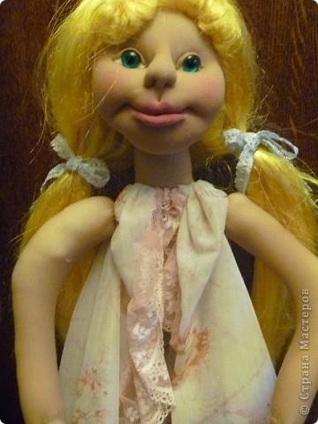Это новая кукла-пакетница Златовласка. фото 4