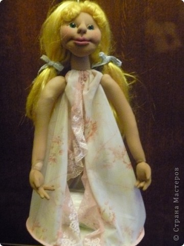 Это новая кукла-пакетница Златовласка. фото 5