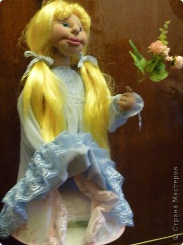 Это новая кукла-пакетница Златовласка. фото 6