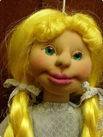 Это новая кукла-пакетница Златовласка. фото 7