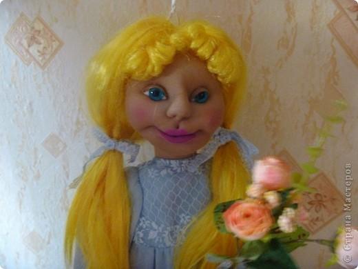 Это новая кукла-пакетница Златовласка. фото 1