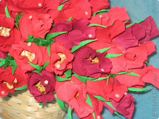 Корзина роз для любимой свекрови фото 5