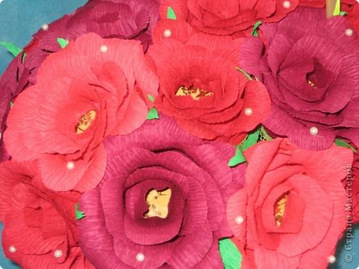 Корзина роз для любимой свекрови фото 6