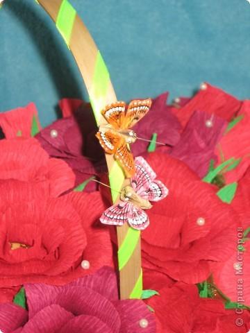 Корзина роз для любимой свекрови фото 7