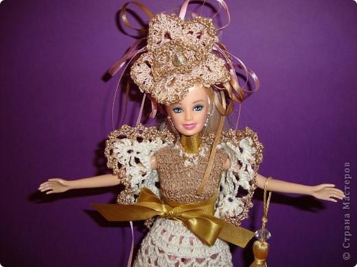 Эту куклу при продаже звали Барби. Однако, после того, как я сделала ей подобный наряд, сын назвал ее Людмилой.  фото 4