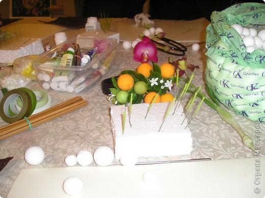 Начала осваивать тайскую глину. Вот первые работы. Веточка апельсинового дерева фото 9