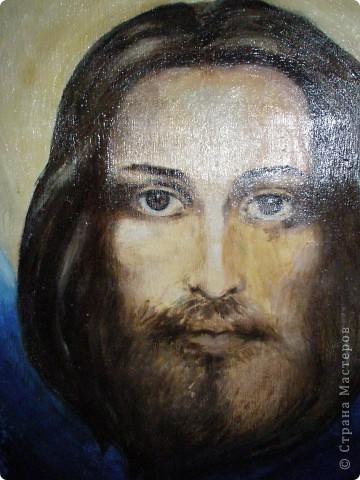 Иисус. Изображение с плащаницы.