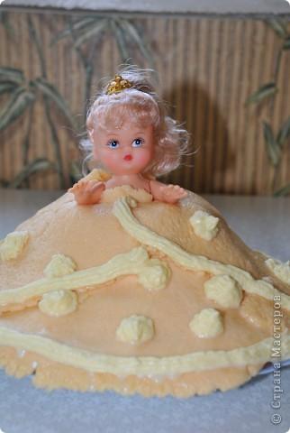 У дочки сегодня день рождения исполнилось 2 года вот такой тортик у меня получился фото 2