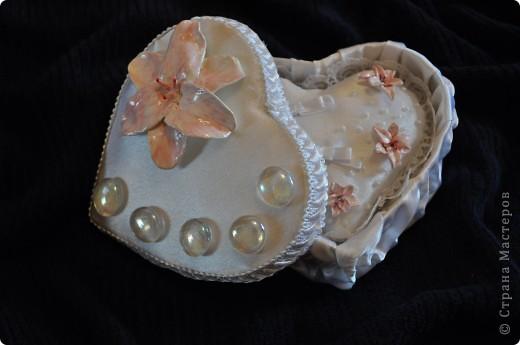 свадебная коробочка с подушечкой для колец фото 3