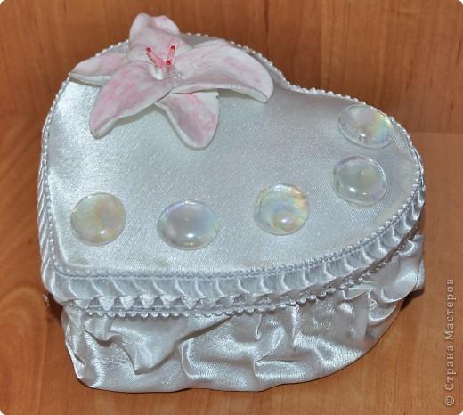 свадебная коробочка с подушечкой для колец фото 4