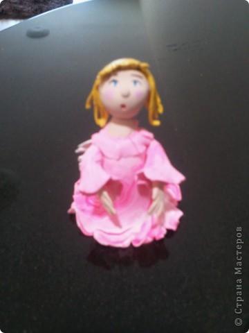 Мое занятие лепкой началось с работы с запекаемой глиной. И первоначально я увлекалась только ангелочками. Эти крошки подарены. фото 2