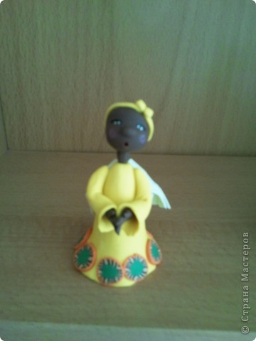 Мое занятие лепкой началось с работы с запекаемой глиной. И первоначально я увлекалась только ангелочками. Эти крошки подарены. фото 6