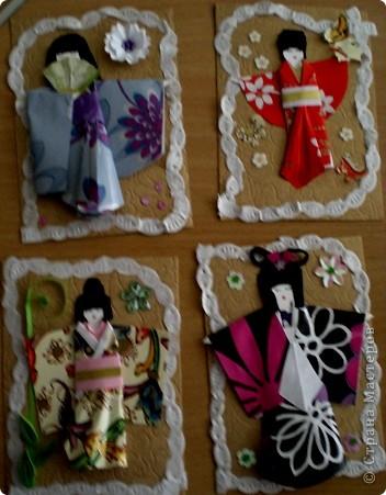 Это моя новая серия .Большое спасибо Веронике Анатольевне за ее МК по японской куколке. фото 1