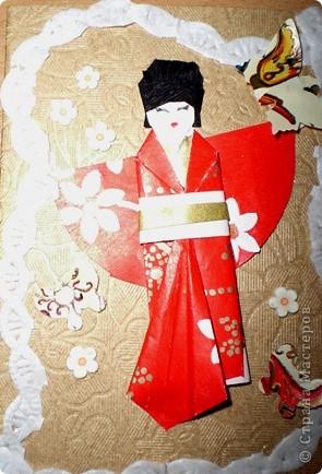 Это моя новая серия .Большое спасибо Веронике Анатольевне за ее МК по японской куколке. фото 2