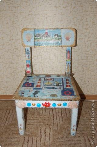 Детский стульчик для моих путешественников. фото 1