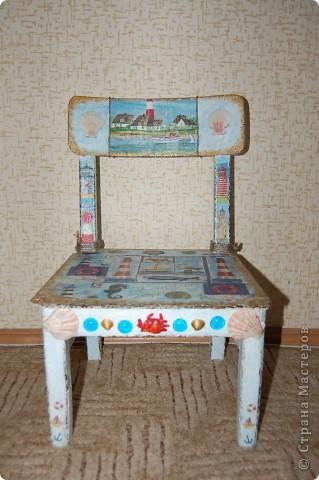 Детский стульчик для моих путешественников. фото 2