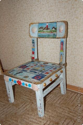 Детский стульчик для моих путешественников. фото 3