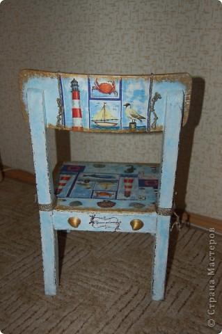 Детский стульчик для моих путешественников. фото 4