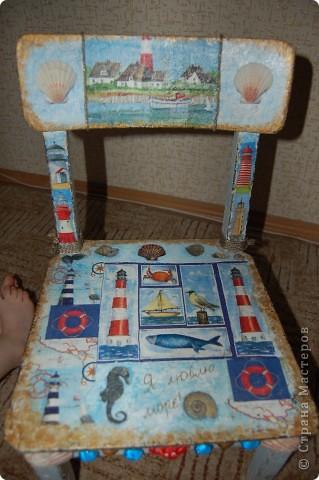 Детский стульчик для моих путешественников. фото 5