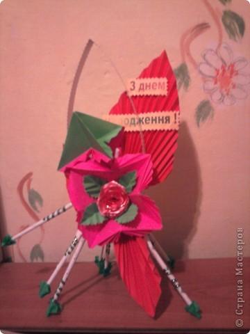 """Кусудама - """"бабочка"""" в сувенірі... фото 1"""
