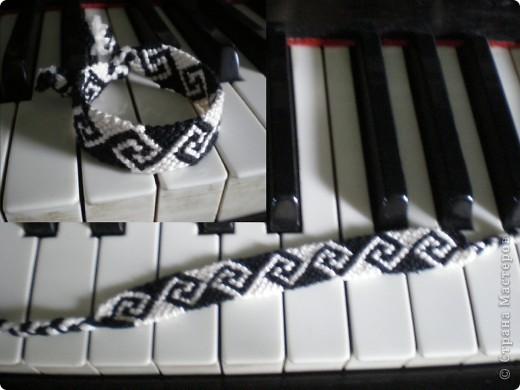 Мои фенечки (схемы взяты из сайта: http://www.mirfene4ek.ru/)  фото 8