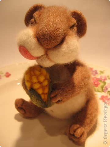 Хомке счастье привалило  - кукурузка хороша! фото 5