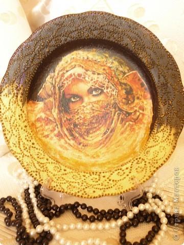 тарелка к уроку прямой декупаж в онлайн школе Натальи Шихаревой на http://www.babyblog.ru фото 1