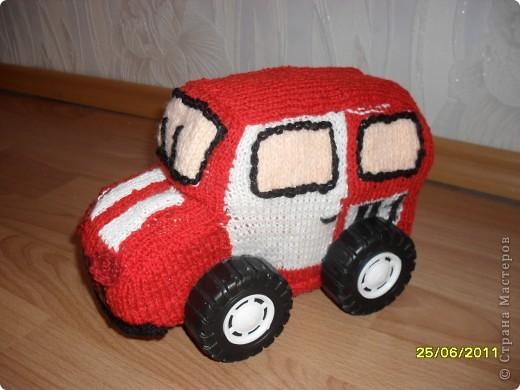 Пожарная машинка - повторюшка фото 1