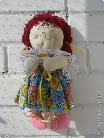 моя первая кукла в стиле примитив