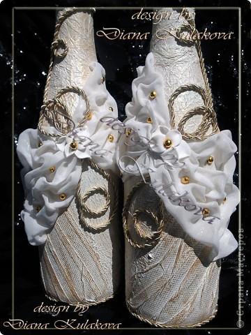"""Свадебный набор """"Свадебное золото"""" фото 3"""