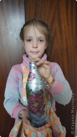 Маленькие умельцы познакомились с техникой декупаж. фото 10