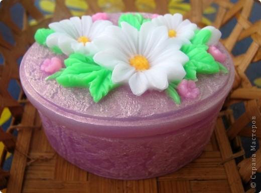 """Последнее время очень увлеклась не просто мылом, а именно отливкой оригинальных форм для мыла. Изготавливаю для себя, подруг и знакомых и также под заказ! 3D форма """"Цветок орхидеи"""". Вес мылка 70 грамм. фото 6"""
