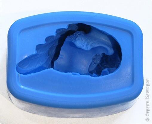 """Последнее время очень увлеклась не просто мылом, а именно отливкой оригинальных форм для мыла. Изготавливаю для себя, подруг и знакомых и также под заказ! 3D форма """"Цветок орхидеи"""". Вес мылка 70 грамм. фото 5"""