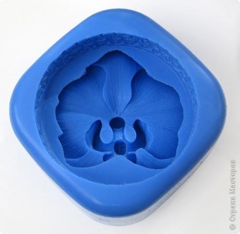 """Последнее время очень увлеклась не просто мылом, а именно отливкой оригинальных форм для мыла. Изготавливаю для себя, подруг и знакомых и также под заказ! 3D форма """"Цветок орхидеи"""". Вес мылка 70 грамм. фото 3"""