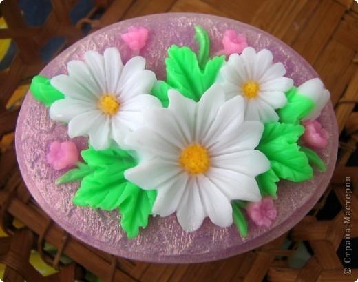 """Последнее время очень увлеклась не просто мылом, а именно отливкой оригинальных форм для мыла. Изготавливаю для себя, подруг и знакомых и также под заказ! 3D форма """"Цветок орхидеи"""". Вес мылка 70 грамм. фото 7"""