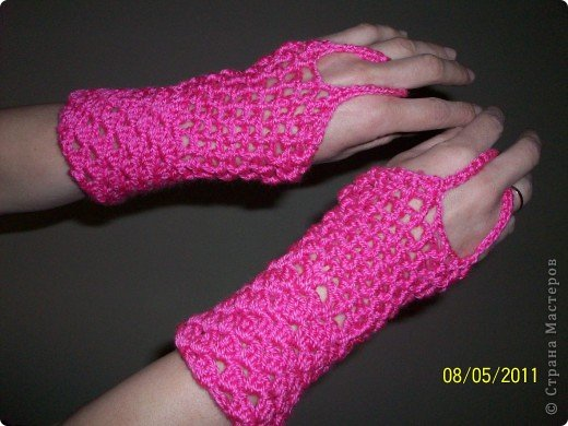 перчатки без пальцев фото 5