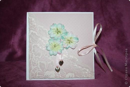 свадебный конверт для дисков фото 1