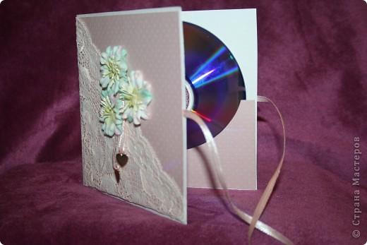 свадебный конверт для дисков фото 2