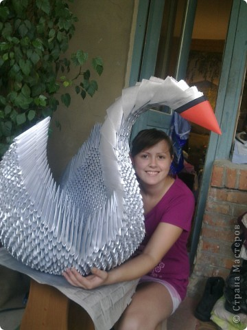 Мой первый большущий лебедь)))) фото 3