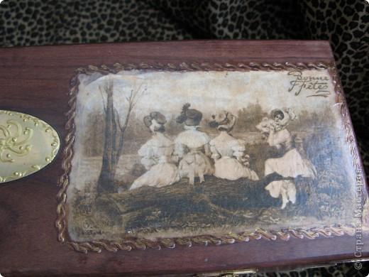 """Вот подоспел первый из """"подопытных кроликов""""  - полуфабрикат/образец для моего мастер-класса по распечаткам. Это картинки от подарочного пакета (упаковочная бумага) фото 5"""