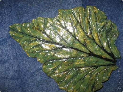 Вот и мне захотелось гипсовых листочков... фото 2