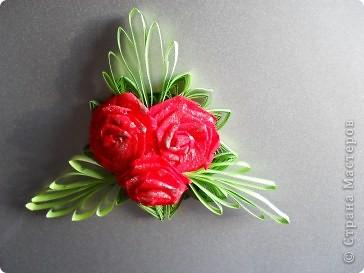 букетик роз (почему то плохо получилось фото) фото 1