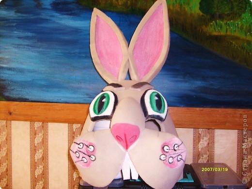 маска кролик